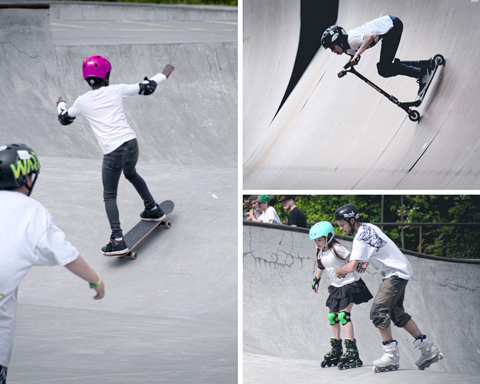 Skating styles